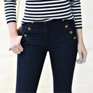 Ann Taylor Sailor Add Day Skinny Jeans Evening Sea